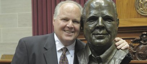 The rush limbaugh bust in jeff city has it s own 24 hour